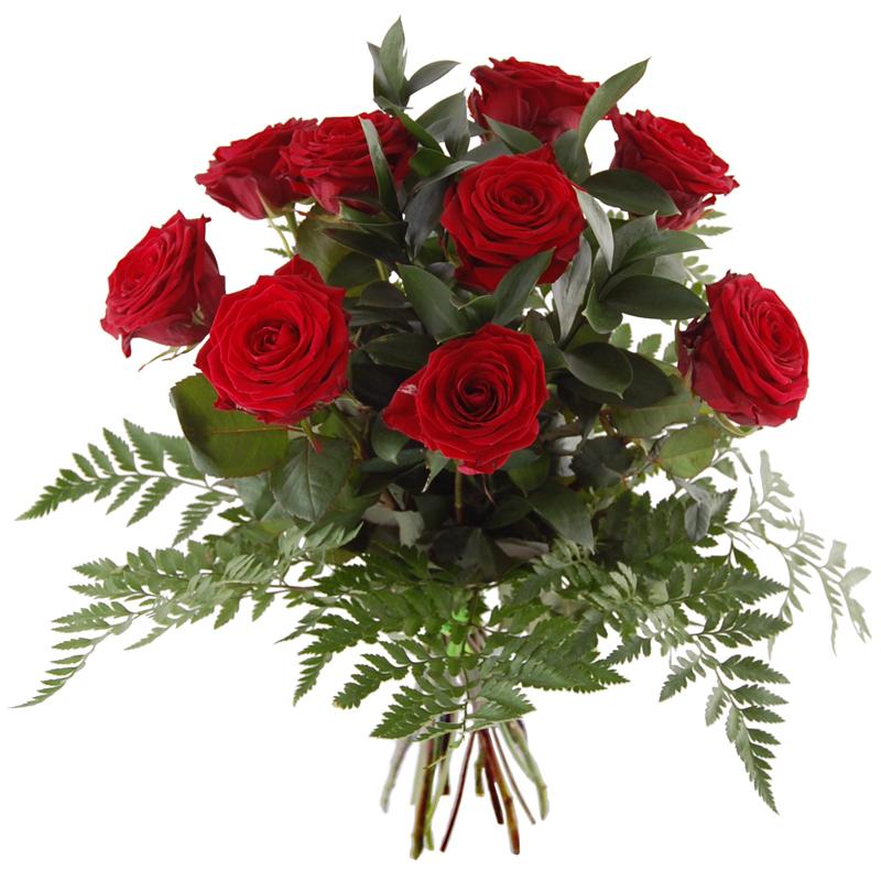 Bukiet 9 róż czerwonych Telekwiaciarnia